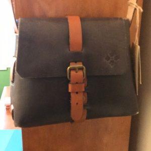 Patricia Nash leather crossbody frattini sat NWT